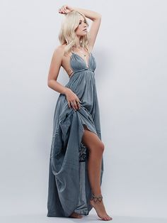 Endless Summer Triangle Top Maxi at Free People Clothing Boutique