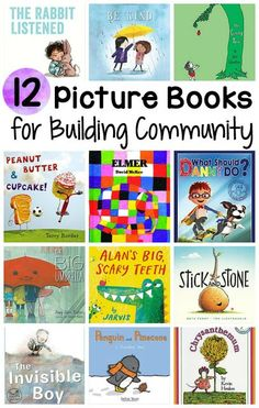 Classroom community - Here are my 12 favorite reading aloud books for building a warm and inviting classroom environment at the beginning of the school year These books teach important social skills and focus on themes su Beginning Of Kindergarten, Kindergarten Books, Preschool Books, Beginning Of The School Year, New School Year, Book Activities, Physical Activities, Community Building Activities, Building Classroom Community