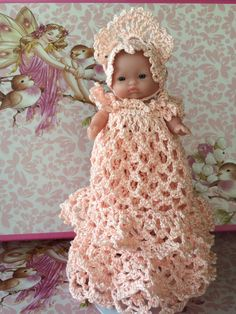 """5"""" Itty Bitty Doll ~ Princess in Pink by Mumsintoit on Etsy"""