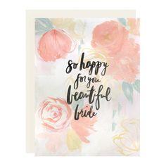 Beautiful Bride Card – Our Heiday
