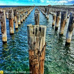 Port Melbourne #CaptureTheCover entry - by Lena in Melbourne's Inner City Northern Region. Click to enter your photos!