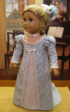 Colonial doll dress to match mine - not this one in particular
