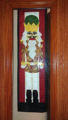 My Christmas nutcracker wall hanging