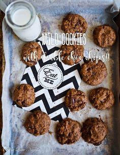 The Milo High Club-Super Chunky Milo Choc Chip Cookies! Flourless Chocolate Cookies, Chocolate Day, Chocolate Chip Cookies, Baking Recipes, Cookie Recipes, Dessert Recipes, Yummy Recipes, Biscuit Cookies, Cake Cookies