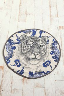 Round Tiger Rug...Urban outfitters