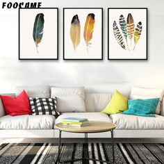 Spanking new arriving FOOCAME Cartoon Feather Watercolor Posters and Prints Art Canvas Painting Modern Home Decor Wall Pictures For Living Room now available for sale US $5.99 with free shipping  you will find this amazing item along with far more at our favorite online store      Have it today the following >> http://thegallery.store/products/foocame-cartoon-feather-watercolor-posters-and-prints-art-canvas-painting-modern-home-decor-wall-pictures-for-living-room/,  #ArtStore