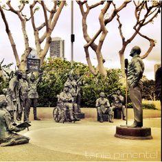 Memorial in honor of Bob Hope in San Diego