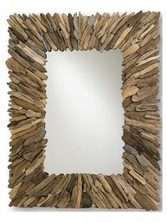 Buy the Currey and Company 4344 Natural Wood/Mirror Direct. Shop for the Currey and Company 4344 Natural Wood/Mirror Beachhead Mirror and save. Eclectic Mirrors, Coastal Mirrors, Coastal Decor, Coastal Living, Natural Mirrors, Driftwood Mirror, Driftwood Beach, Driftwood Projects, Driftwood Ideas