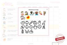 Générateur de tableau de comportement / Behavior chart generator Behaviour Chart, Behavior, Chart Generator, Education Positive, Planning, Word Search, Words, Aide, Zen