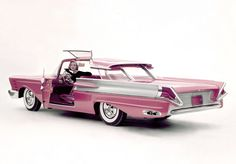 1956 Mercury XM-Turnpike Cruiser ... ahead of it's time .. http;//www.JamesAZiegler.com