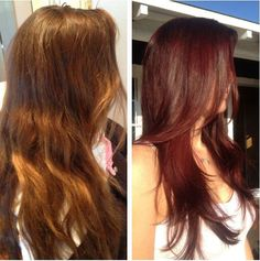 Three color formulas, and one before-and-after!, to create a radiant red, brilliant blonde and beautiful brunette.
