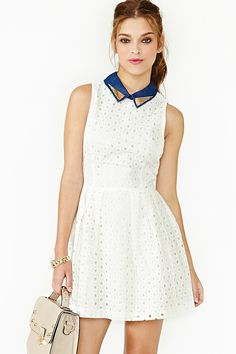 Straight Laced Dress