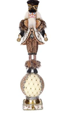 Own it or give it as a gift, either way this Safari Soldier Nutcracker Stocking Holder Mark Roberts Christmas Collectible is an absolute beauty To view a larger image of the product, please click on the image on the left.Additional product information bellow.