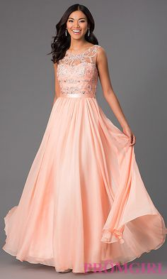 c38c06925d1 Image of Jeweled Long Sleeveless Prom Dress Style  DQ-8736 Front Image  Pageant Dresses