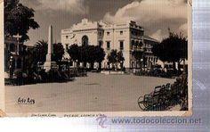 TARJETA POSTAL CUBA, SANTA CLARA, PARQUE LEONCIO VIDAL, FOTO LEY (Postales - Postales Extranjero - América - Cuba)