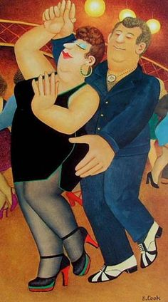 Welcome to the Beryl Cook shop. We stock the definitive collection of Beryl Cook Limited editions and other Beryl Cook prints. Shall We Dance, Lets Dance, Renoir, Beryl Cook, Plus Size Art, English Artists, British Artists, Famous Artists, Dirty Dancing