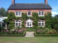 Flush casement replacement wooden windows in white