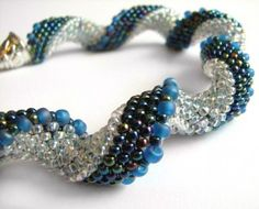this is a very pretty bracelet, I love the graduation of beads, it is very appealing.