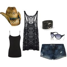 """""""Music Festival Style"""" by babybluex3 on Polyvore Summer outfit"""