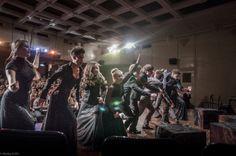 Rèpetitions et Spectacle à la Maison des Acteurs- Dom Aktera, Arbat, Moscow