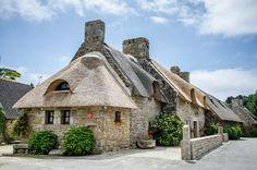 Chaumières de Kerascoët à Nevez Sud Finistère