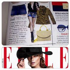 En la revista Elle de abril 2013