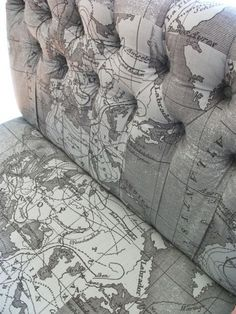 Map-Print Chairs
