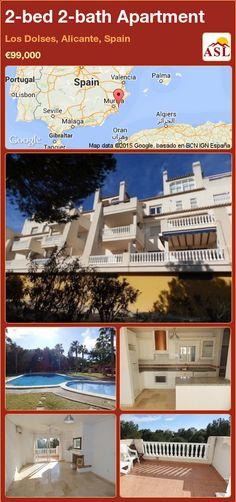 2-bed 2-bath Apartment in Los Dolses, Alicante, Spain ►€99,000 #PropertyForSaleInSpain