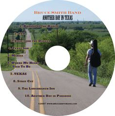 "Designed the Bruce Smith CD ""Another day in Texas"""