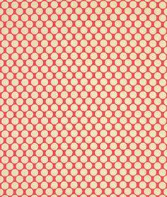 Amy Butler Full Moon Polka Dot Cherry Fabric - $8.95 | onlinefabricstore.net
