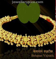 Traditional Maharashtrian jewellery Vajratik