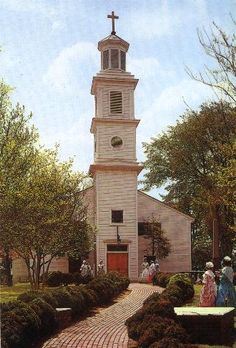 """St. John's Episcopal Church, Richmond, VA--History was made here. """"Give me liberty or give me death"""""""