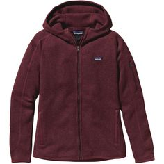 """""""I have the hoody and the half-zip. I wear one or the other practically every day. Best article of clothing I own. In cooler temps, I wear it under a down sweater vest or over a long-sleeve tech shirt. Warmer temps I can layer over a tank and be perfectly comfortable."""" #customerreview Patagonia Better Sweater Full-Zip Hoody (Women's)"""