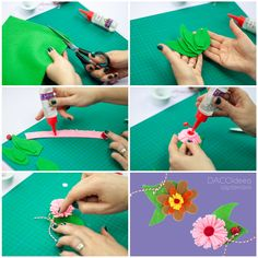 Diy Craft Projects, Diy Crafts, Felt Diy, Making Out, Create, How To Make, Accessories, Inspiration, Products