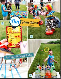Fun Games and Activities for Boys' Birthday Parties    #boysbirthdayactivities