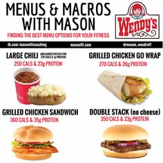 Comprehensive calorie and macronutrient guides for popular fast food and sit-down restaurants for macro friendly eating on the go. It's more than possible to make healthy choices on the go. Healthy Fast Food Choices, Healthy Fast Food Restaurants, Fast Healthy Meals, Healthy Food List, Healthy Options, Healthy Cooking, Healthy Eating, Healthy Recipes, Ketogenic Recipes