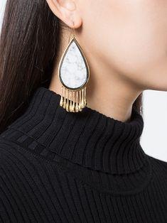 Aurelie Bidermann drop-shaped earrings