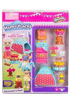 Happy Places Shopkins Cozy Kitty School Camp Decorator's Pack in Doll Accessories. Toys For Girls, Kids Toys, Doll Toys, Barbie Dolls, Shopkins And Shoppies, Minnie Mouse Toys, Shopkins Season, Barbie Doll Accessories, Lol Dolls