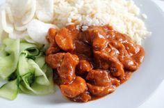 Recept: Hete kip met rijst en komkommersalade |