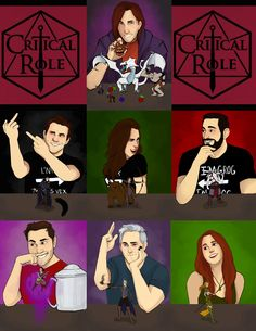 Critical Role 50th Episode Fan Art Gallery   Geek and Sundry