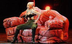 Lady Gaga Execute into a Meat Grinder On-Stage