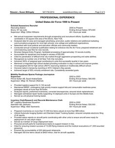 10 government resume examples that lead you to get your dream job - Sample Of Government Resume