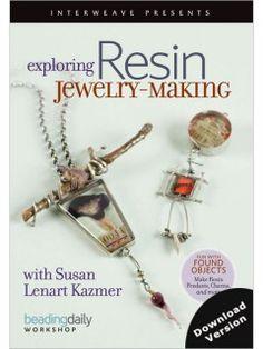 Exploring Resin Jewelry-Making with Susan Lenart Kazmer (Video Download) | InterweaveStore.com
