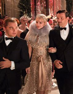 Prada designed costumes for Baz Luhrman's Great Gatsby - Carey Mulligan as Daisy Buchanan. Can't wait to see this!
