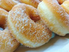 Churros, Frittata, Doughnut, Waffles, Candy, Peach, Baking, Desserts, Bomboloni