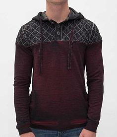 Buckle Black Noble Henley Sweatshirt - Men's Sweatshirts | Buckle