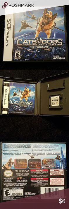 Cats & Dogs revenge of kitty galore Game comes with original case and manual Nintendo Other