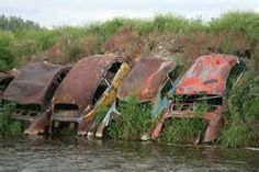 abandoned and rusty vehicles - Bing images