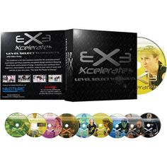 Neoteric Home Body Fitness 9 DVD Set Xcelerate Level Workout Music Videos Dance Workout Videos, Workout Music, Personal Fitness, Fitness Dvd, Body Fitness, Fitness Tips, Fun Workouts, At Home Workouts, Best Workout Dvds