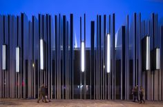 Gallery of Getafe Market Cultural Center / A-cero – 7 Galerie des Getafe Marktkulturzentrums / A-cero – 7 Building Elevation, Building Exterior, Building Facade, Cultural Architecture, Facade Architecture, Parametric Architecture, Landscape Architecture, Facade Design, Fence Design